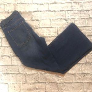 White House Black Market - Wide Leg Belted Jean